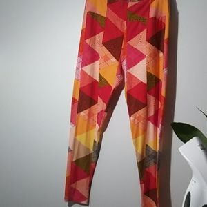 Lula roe capris . size tall and curvy